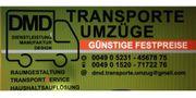 Umzug Transporte professionell und kostenoptimiert