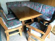 Essecke Esstisch Eckbank 3 Stühle
