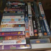 VHS Videofilme Sammlung ca 1000