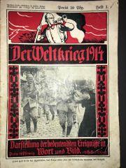 Der Weltkrieg 1914 - Darstellung der