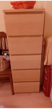 Schrank mit 5 Schubladen in