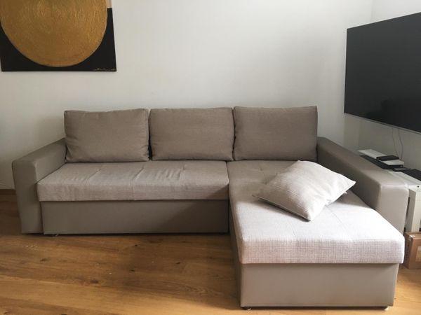 neuwertige (Schlaf-)Couch Wohnzimmer in München - Polster, Sessel ...
