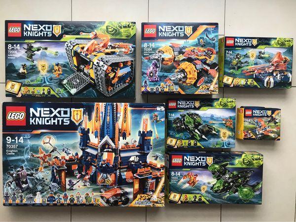LEGO NEXO KNIGHTS SETS