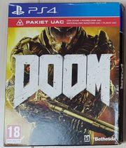 Doom 2016 PS4 pl en
