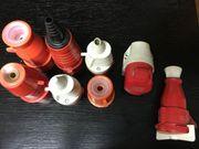 Verkaufe verschiedene CEE-Drehstrom Stecker
