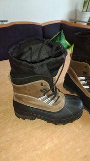 Boots Leder Gr 40 41