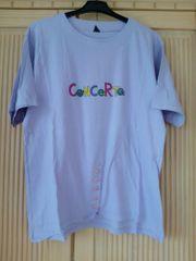 lila bunt Shirt Damenshirt Longshirt