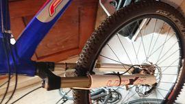 Mountain-Bikes, BMX-Räder, Rennräder - MTB Hardtail der Marke Fuji