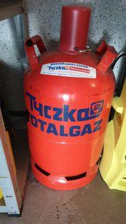11kg Gasflasche rot gefüllt