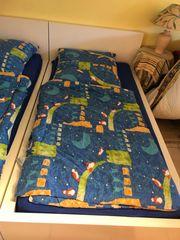 IKEA Bett Malm weiß 1m