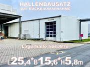 Rückbau- Stahlhalle Lagerhalle 25 4