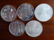 10EUR Münzen Satz 2007