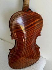 Geige Violine Konzertgeige mit Zettel