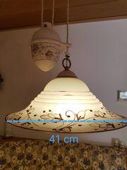Eßzimmer-Lampe - kreativ im Landhausstil