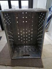 Alubox Metall Zarges alt antik