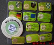 11 Pins od Broschen Oldtimermesse