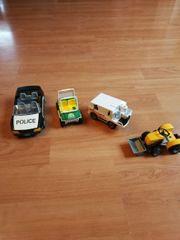 4 Autos Playmobil Polizei