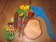 4070 Playmobil Spielplatz Personen Schaukel