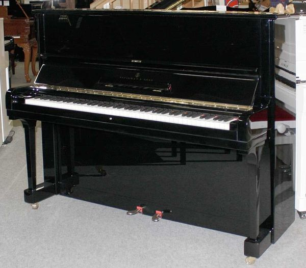 Klavier Steinway Sons V-125 schwarz