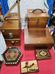 Holzkästchen Sammlerbox oder Ähnliches