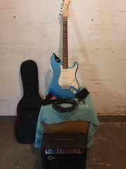 e Gitarre und Verstärker