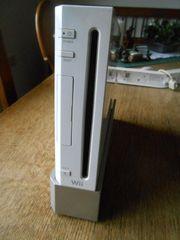 Wii Spelekonsole mit Zubehör weiß