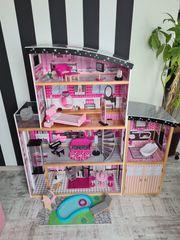 Barbiehaus Puppenhaus Kidkraft Dollhous Sparkle