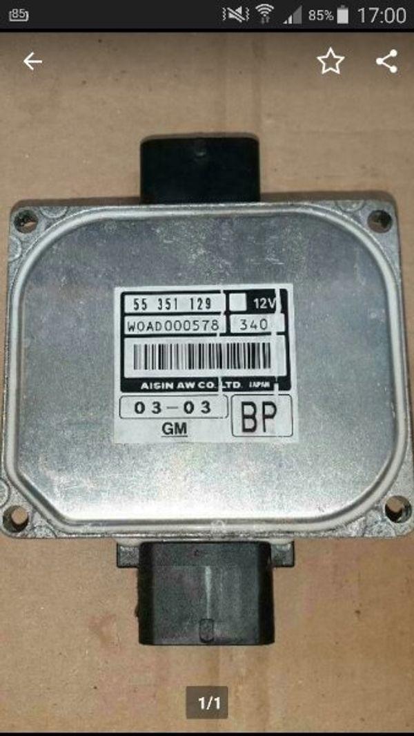 getriebesteuergerät 55351129 automatik Opel vectra