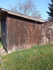 Brennholz von Hütte