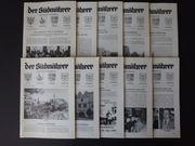 10 Stk DER SÜDMÄHRER Sudetendeutsche
