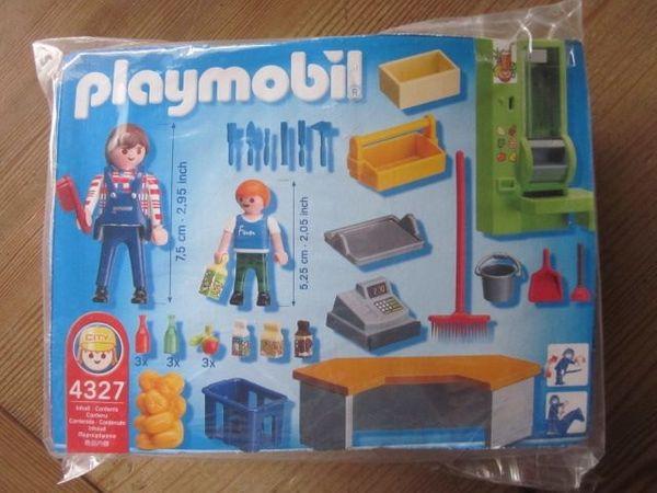4327 Playmobil Kiosk Schule mit