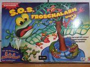 S O S Froschenalarm Spiel