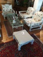 Sitzgruppe für Wintergarten oder Wohnzimmer