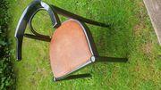 Esszimmerstühle 4 Stück schwarz