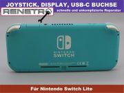 Reparatur Nintendo Switch Lite - Ladebuchse