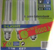 Energiesparlampe E27 11 Watt NEU