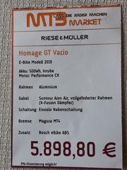 Riese Müller Homage GT Vario