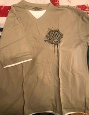 beige Tshirt in xxxl neu