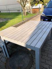 Ikea Falster Tisch grau Balkontisch