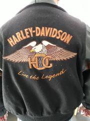 Echte Harley Davidson Lederjacke Gr