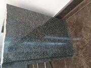 Granit Glas Couchtisch