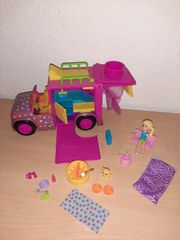 Polly Pocket Camping Wohnmobil