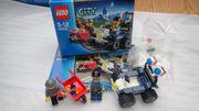 LEGO City Polizei-Quad 60006 neuwertig