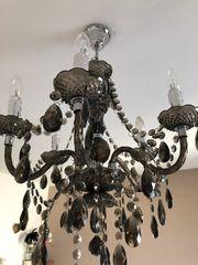 Lampe - Luster in dunkelbraun 5