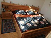 Schlafzimmer Doppelbett 200x180cm mit Lattenrost