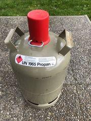 Gasflasche 11kg grau leer Propangas
