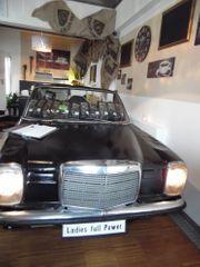 Theke alter Mercedes Bauhjahr 1974