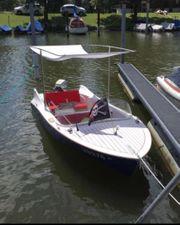 GfK Boot mit Bodenseezulassung Führerscheinfrei