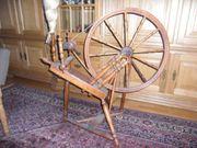 Spinnrad funktionstüchtig antik