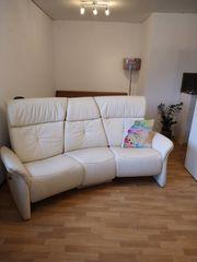 Himolla Leder Sofa Relaxsofa elektrisch